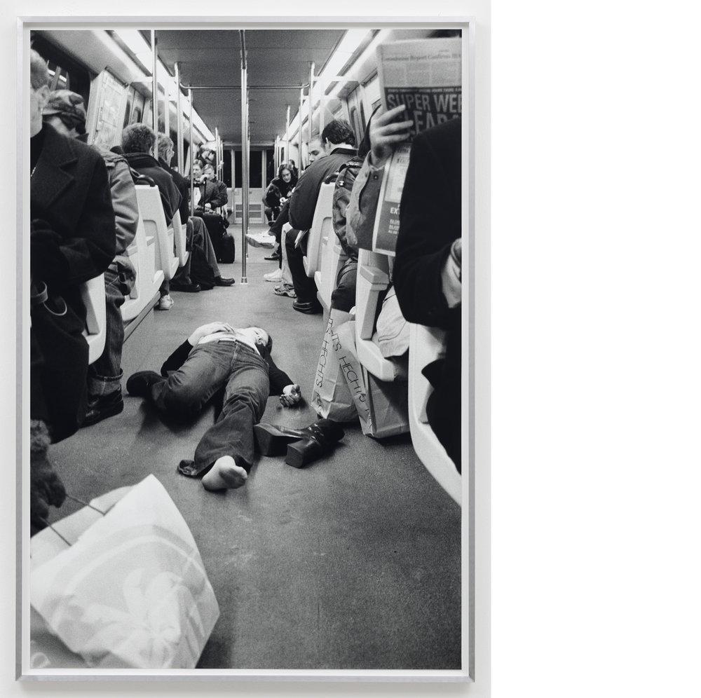 Murder Picture #1 , 1997/2017, Silver Gelatin Print, 40×27 inches