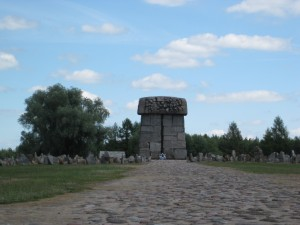 Memorial at Treblinka Extermination Camp