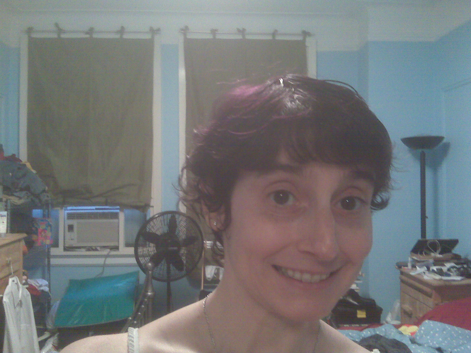 Thanks to Dianne and Steph, I have purple highlights.