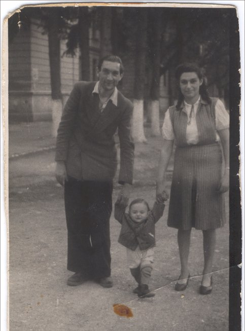 My grandfather, father, and bubbe