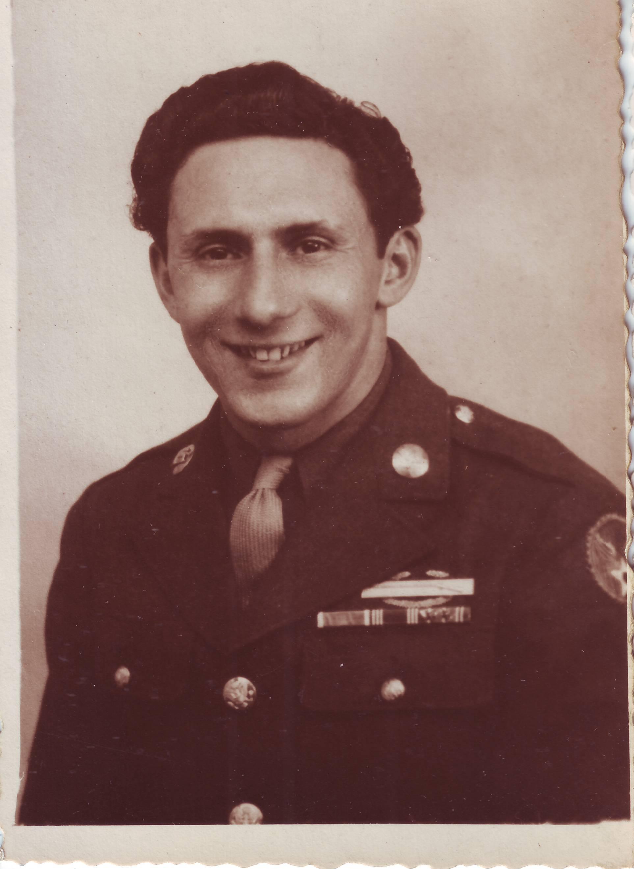Grandpa Ruby's Army Portrait