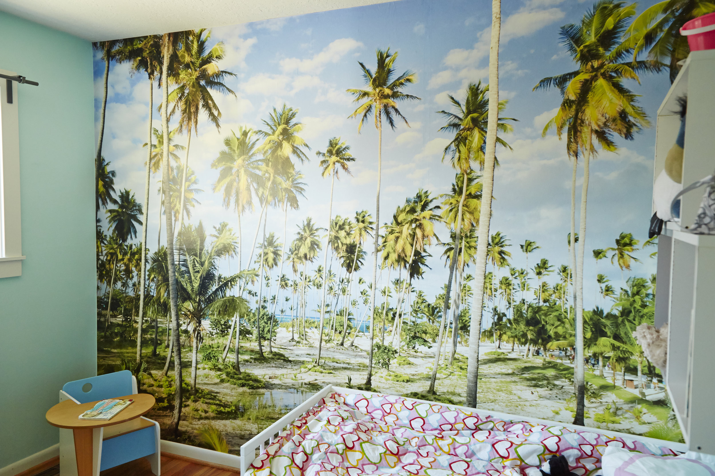 bedroom wallpaper mural photograph