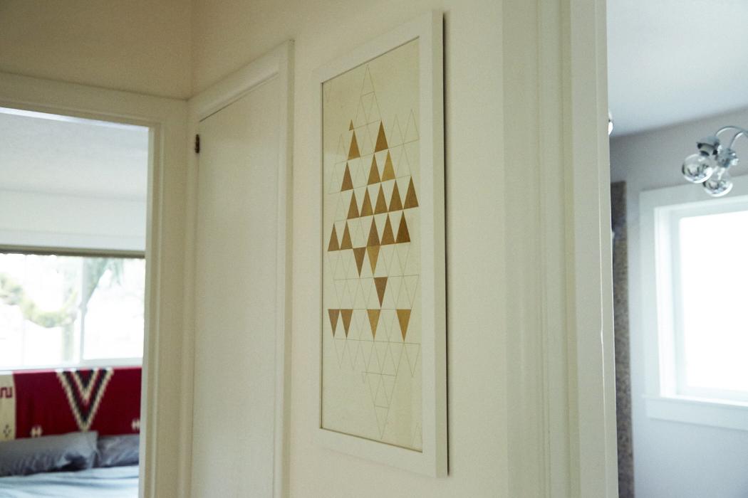 triangles hallway