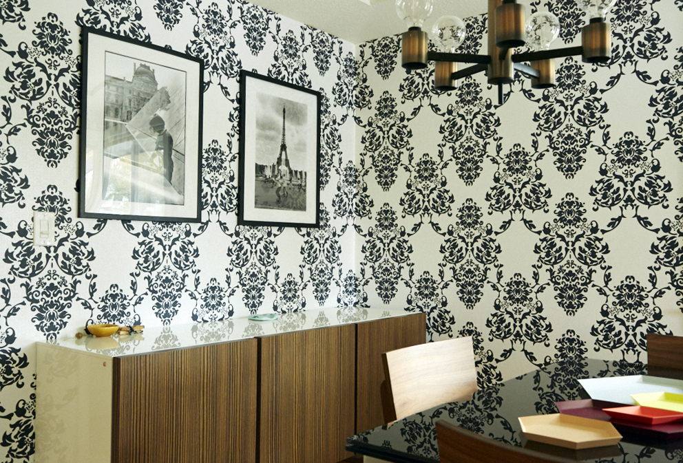 wallpaper photographs dining room