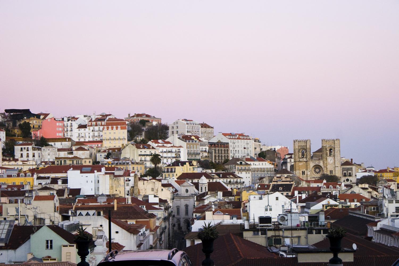 lisbon hillside