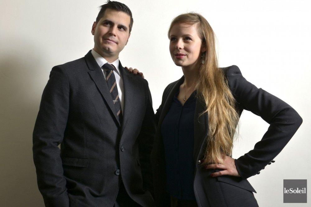 Lara Emond et Olivier Brière-Leblanc (Sub Rosa, BHLB et Nota Bene) - Le Soleil /March 2016