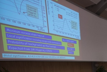 Prove the existence of the particle of God in Comic Sans (CERN 2012)