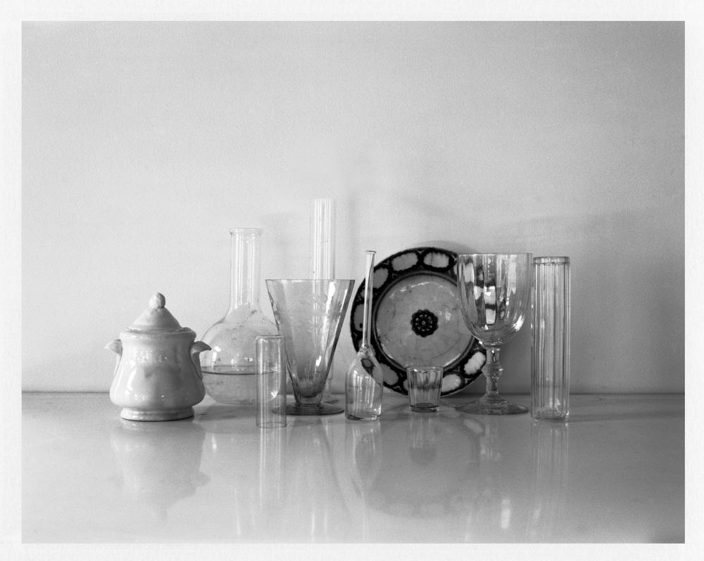 "Still Life with Sugar Bowl. 2014. Archival Pigment Print. 8"" x 11"""