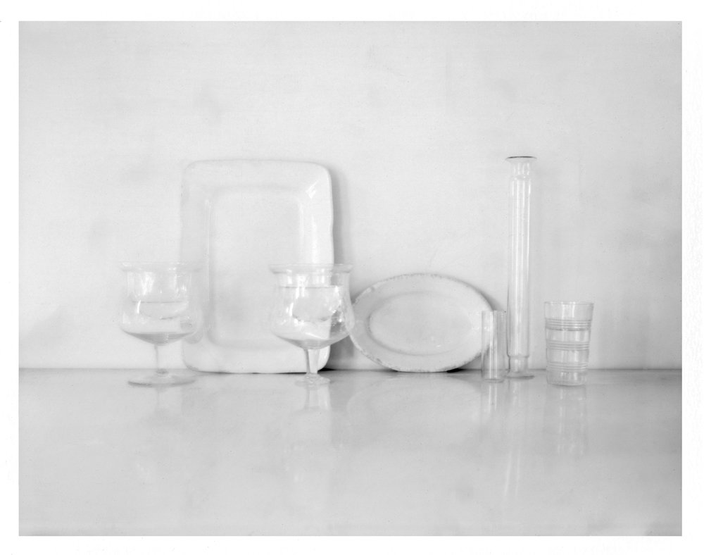 """Still Life with Rectangular Plate. 2015. Archival Pigment Print. 9"""" x 12"""""""