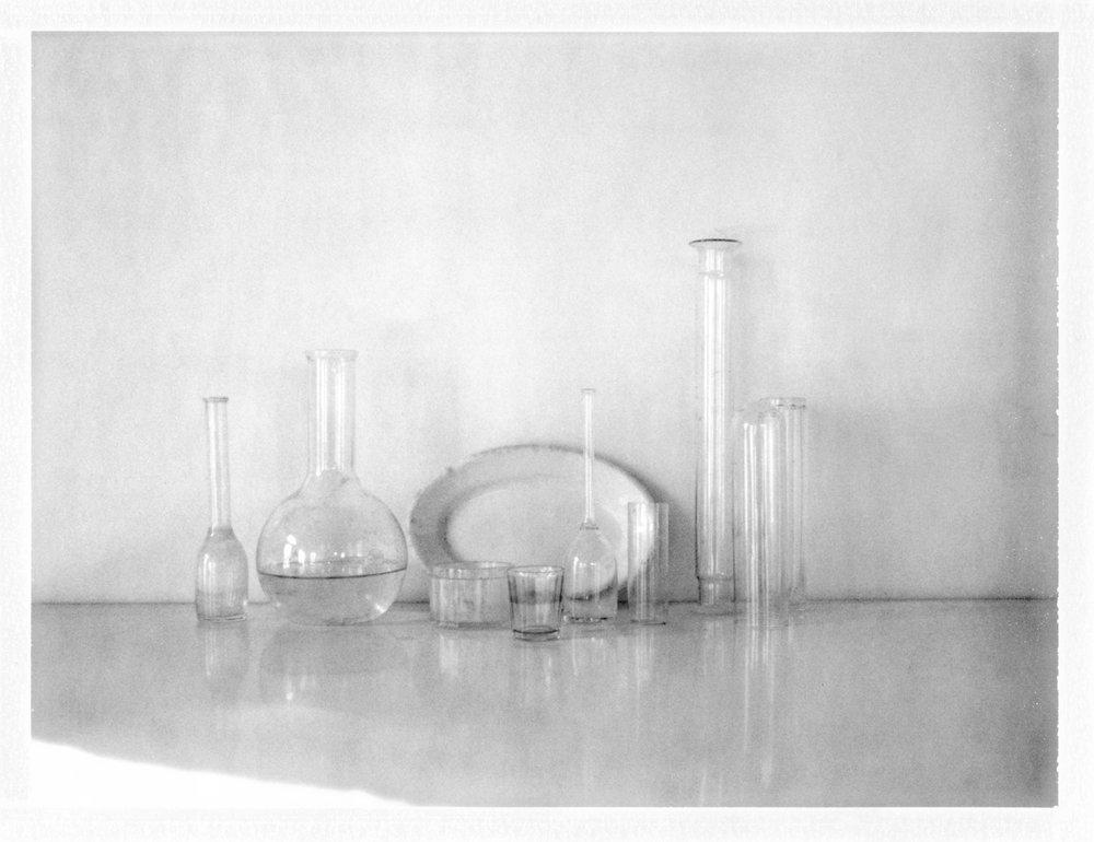 "Still Life with Beaker. 2015. Archival Pigment Print. 10"" x 13"""