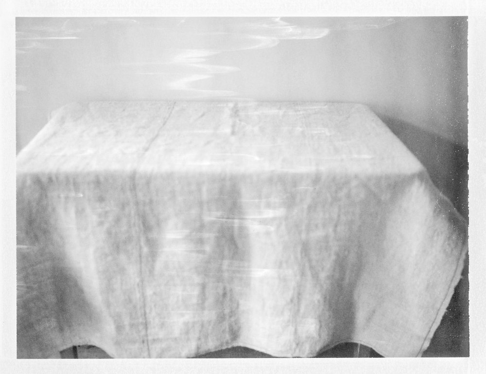 "Tablecloth. 2015. Archival Pigment Print. 6"" x 8"""