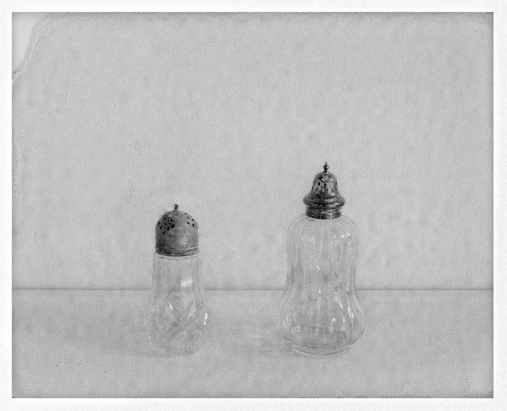 "Salt and Pepper Shaker. 2016. Archival Pigment Print. 6"" x 8"""