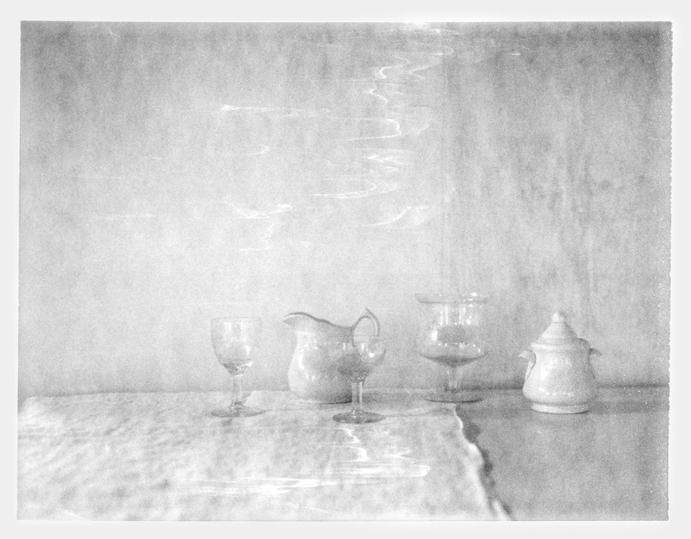 "Still Life with Linen. 2018. Archival Pigment Print. 6"" x 8"""