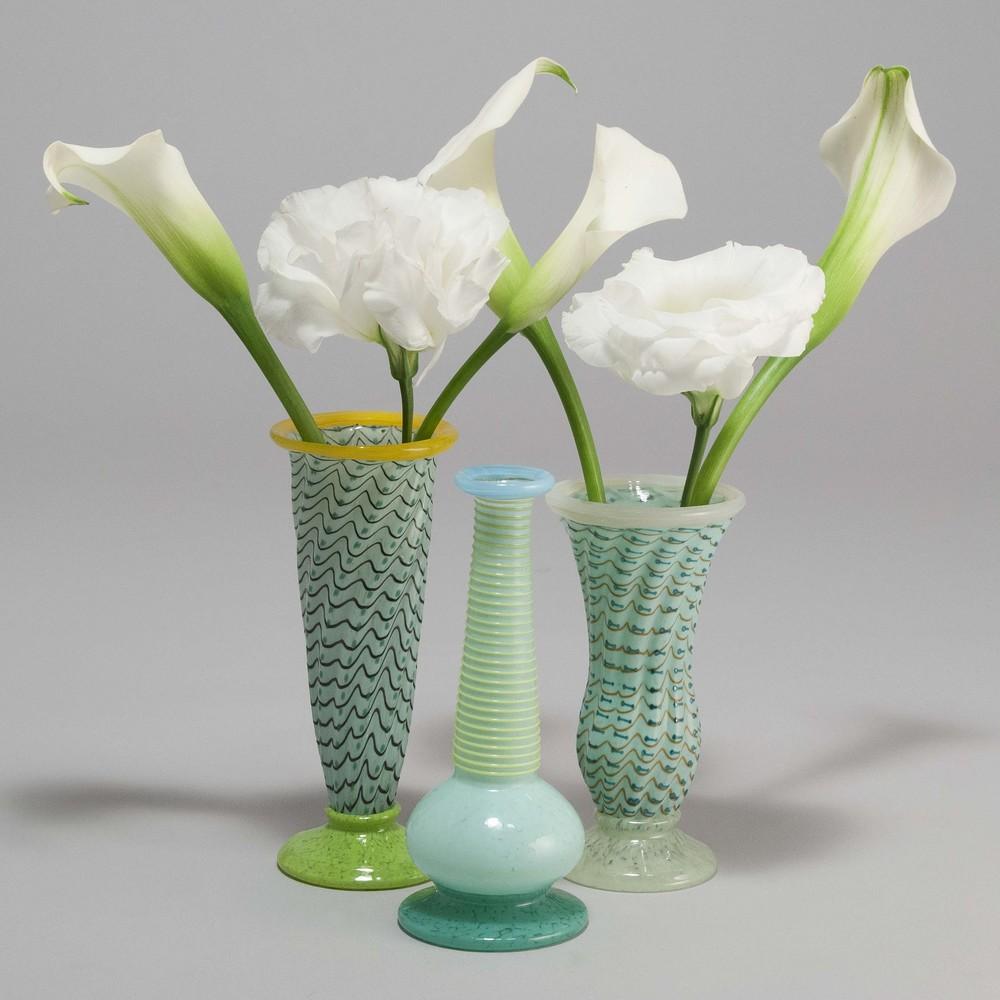 Trio of blue mini vases almost perfect glass trio of blue mini vases reviewsmspy