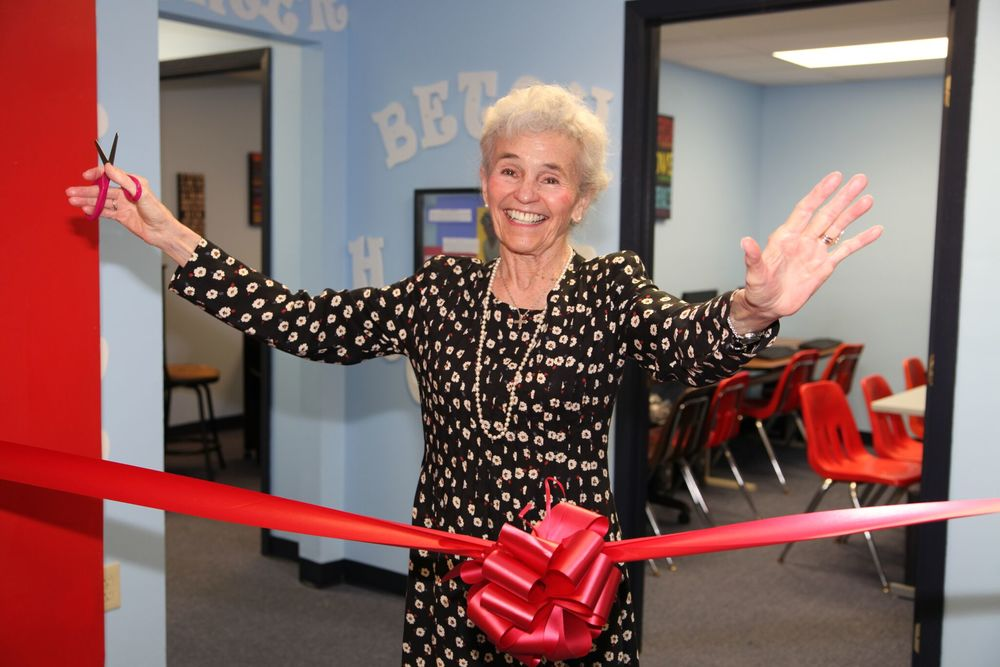 For Love of Children: Betsy Hoopler ribbon-cutting ceremony