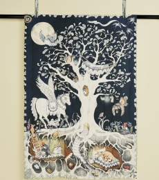 Enchanted forest duvet set for kids