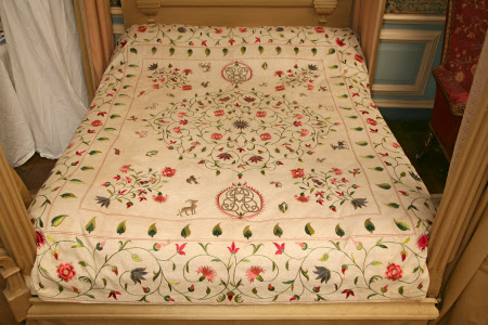 Bedcover, c. 1725-c.1750, Object No. 500311.1 Lyme Park © The National Trust/Robert Thrift