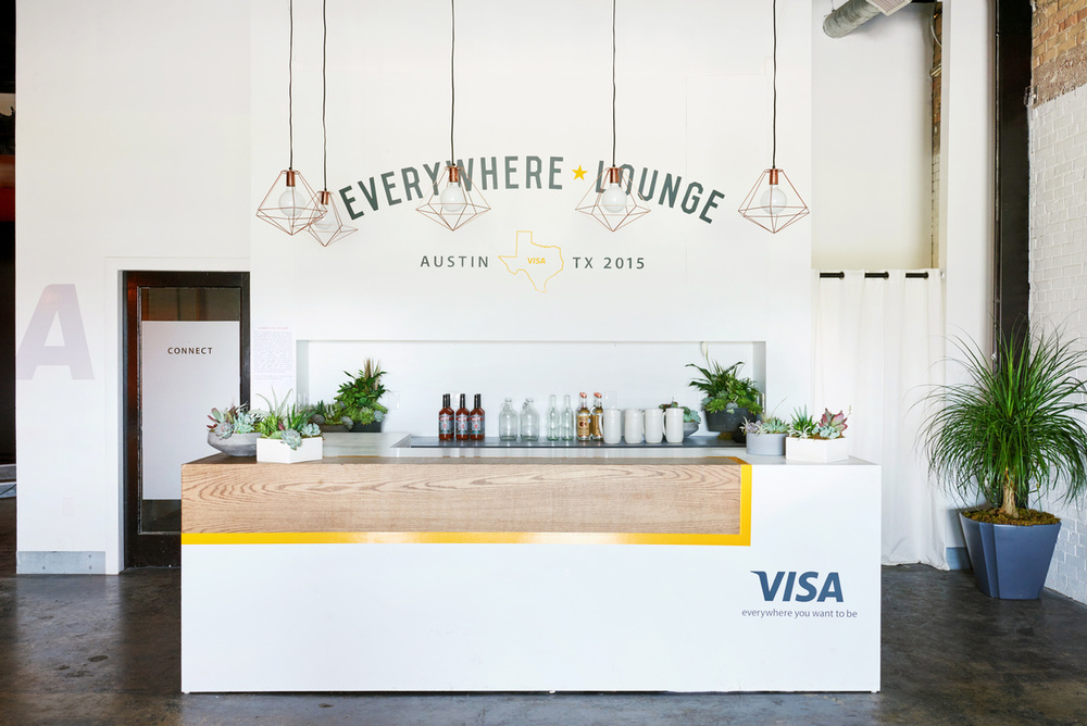sxsw Visa everywhere lounge