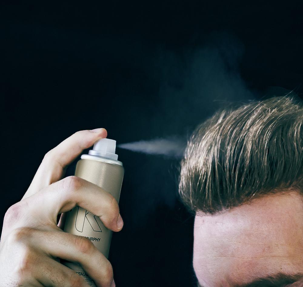 Mens dry shampoo