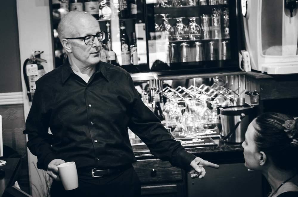 Bill Chrimser, owner of GQ Barber Lounge