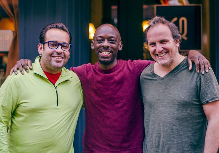 Best Denver Mens Haircut with Manuel Valera Trio