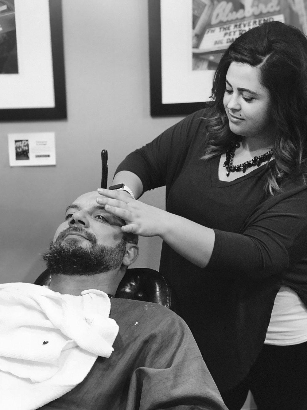 Lauren starts simple haircuts for men