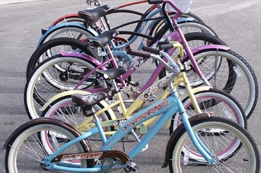 Bike Rentals available from Wally's Bikes