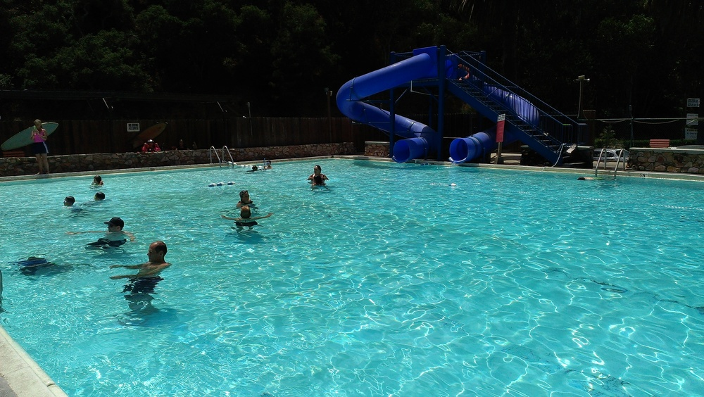 Pool available for daily rentals and swim lessons.