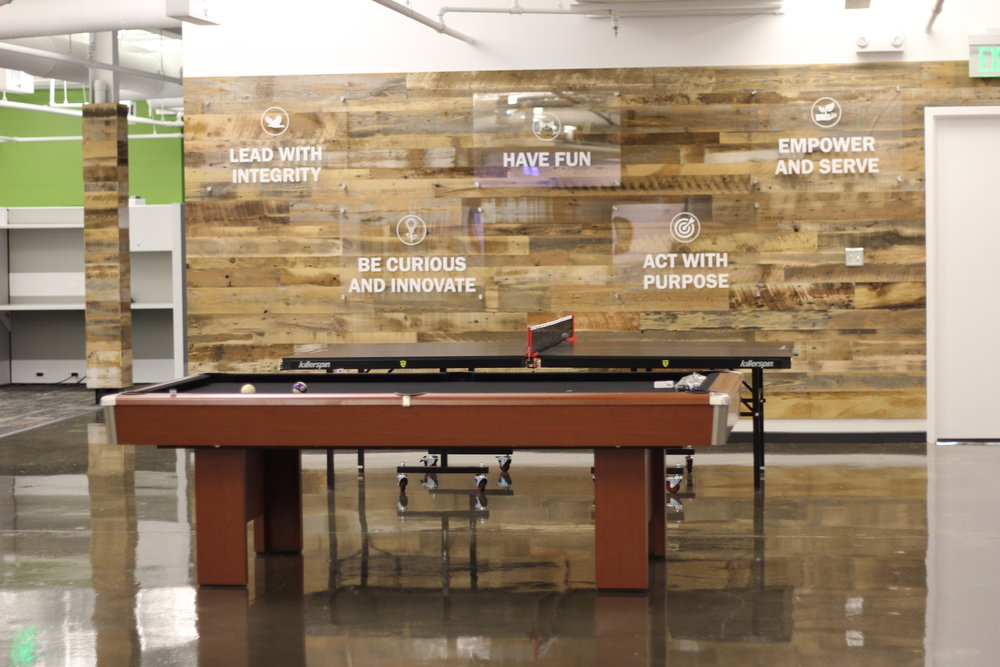 Buzz Franchise Brands Office Photo with Pool Table