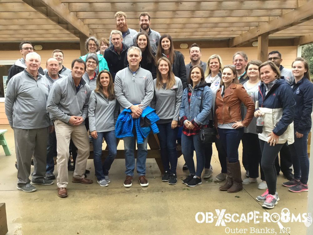 Corporate Offsite Escape Room in the Outer Banks