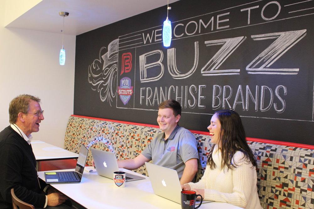 Buzz Franchise Brands Team Meeting