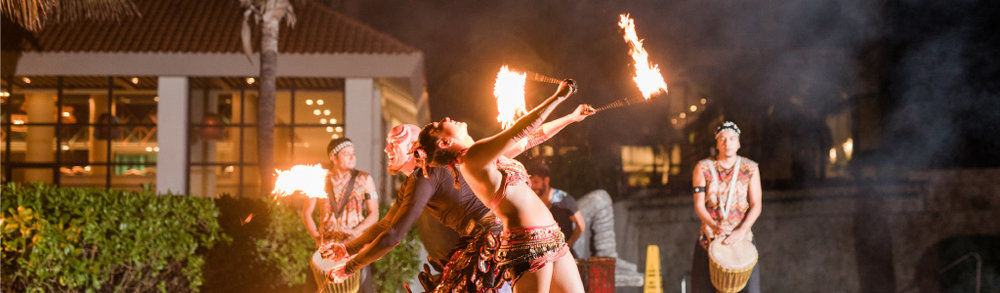 Pool Scouts Convention in Cancun Fire Dancing Show.jpg