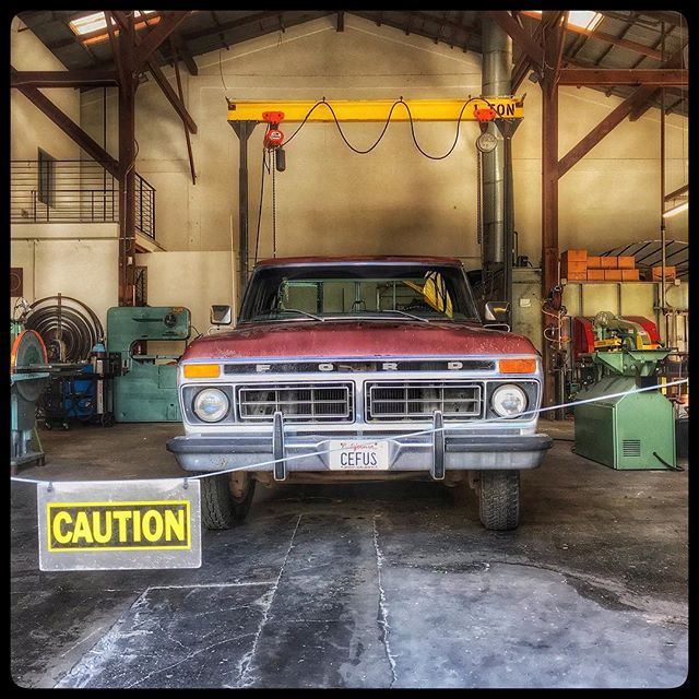 #caution #moving #movingout #movingup #fordtough #cefus #byeneighbors
