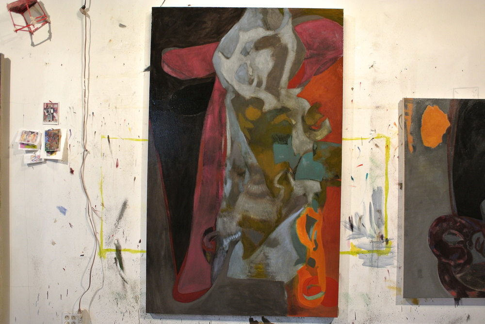 Interrogation of the Angel (studio view)