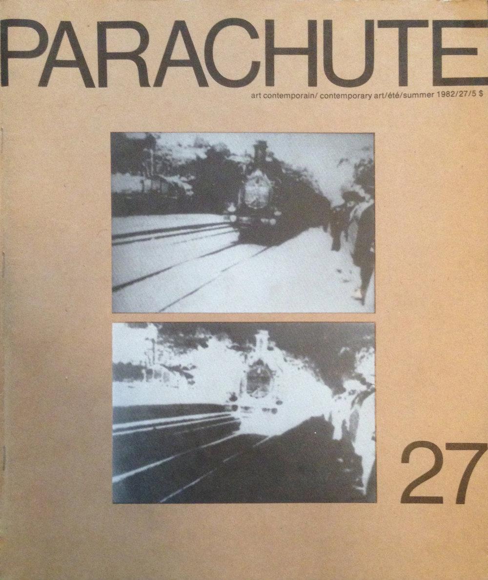 Parachute Magazine, Summer 1982, #27