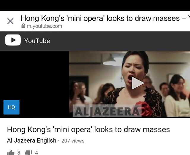 We are on #aljazeeraenglish ! Please go check it out on YouTube https://youtu.be/3o88T3Y0pw0 and like it! #morethanmusical #operarocks