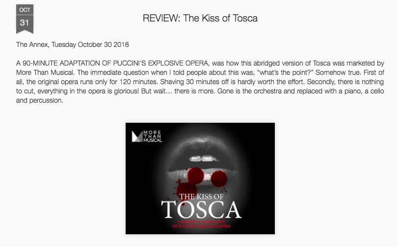 Paying Patron perspective Kiss of Tosca More than Musical Review 2018.png