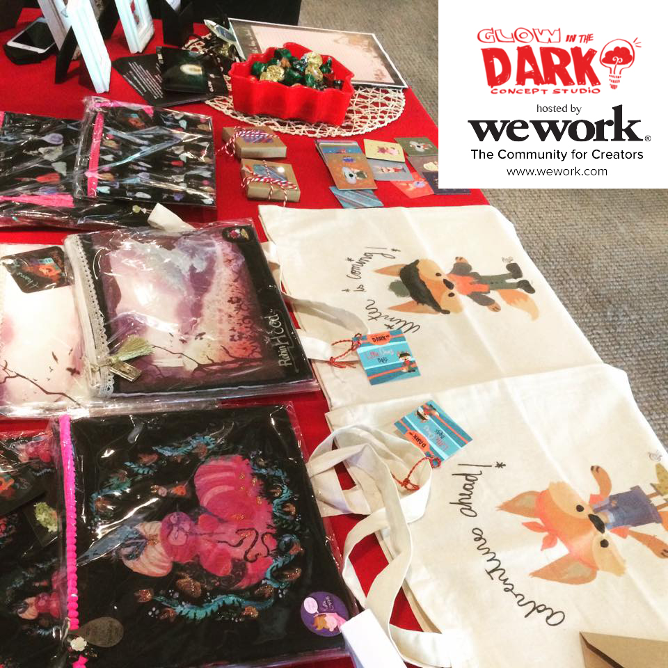 Here a sneak peak of our goods!