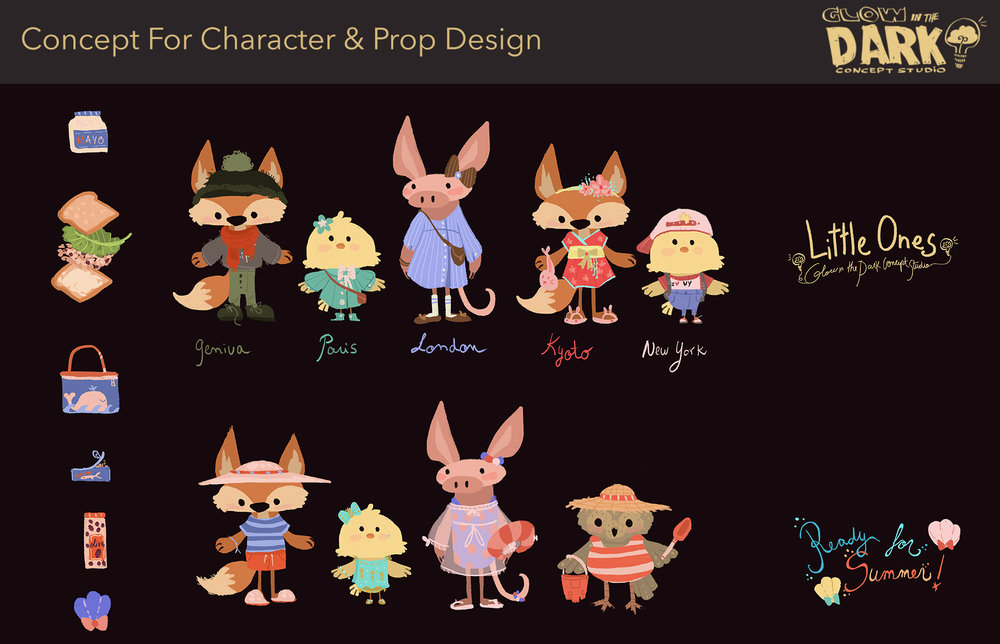 Characters for a Brand