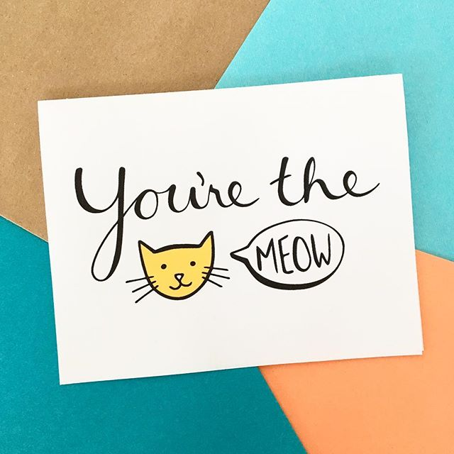😻 . #catsmeow #cat #meow #cards #printable #etsy #card #etsyshop #etsyscout #mompreneur #thankyou #thanks #lettering #catstagram  #dowhatyoulove #scatterbrain