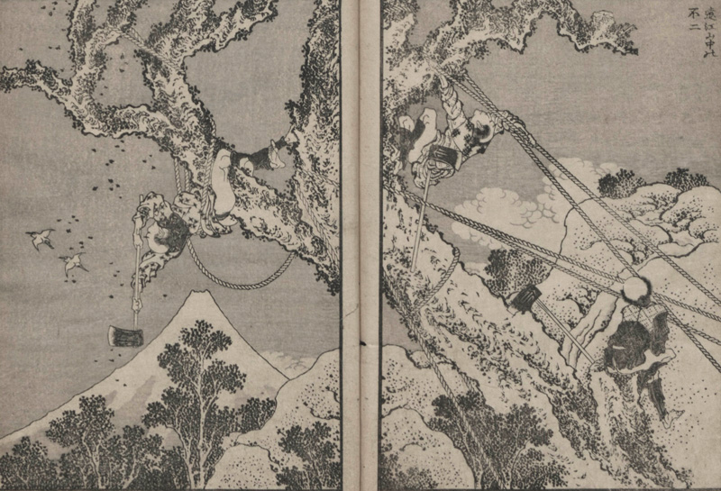 Hokusai, One Hundred Views of Mount Fuji, volume 2
