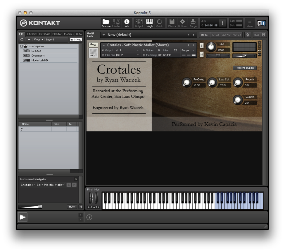 Create Your Own Kontakt Libraries Ryan Waczek