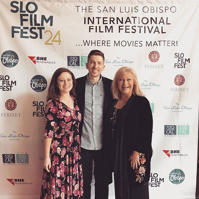 Recap of #slofilmfest with Alessandra and Beth! It was amazing! I finally got to meet Justin (the director) in person and well as Steve Ford and Wyatt McCrea—all wonderful people. Couldn't be more proud to be apart of this film!