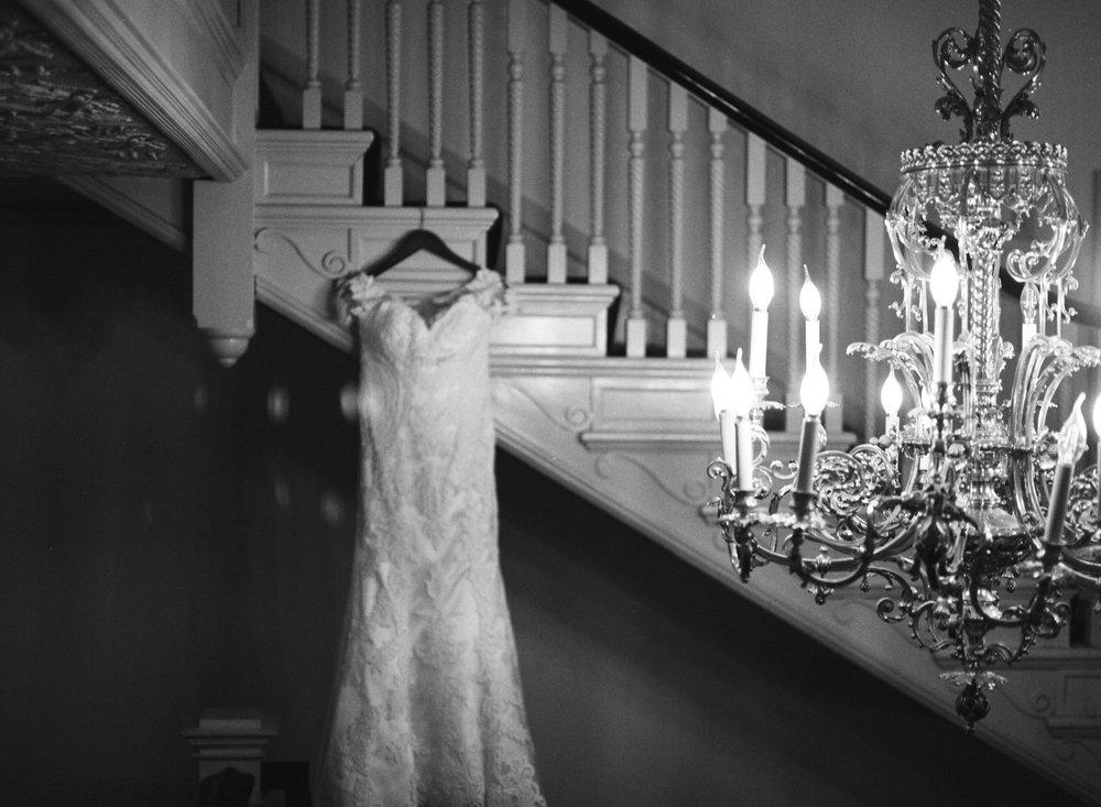 Kayla's wedding dress on Ilford HP5 120 film