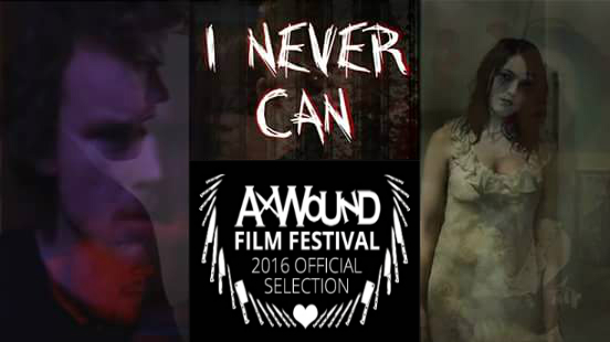 "Pictured: Jon cates (""Matt) and Mig windows (""JENNY"") in A PROMO FOR ""I NEVER CAN"" MADE SHORTLY AFTER ITS ACCEPTANCE TO THE AXWOUND FILM FESTIVAL IN BRATTLEBORO, VERMONT"