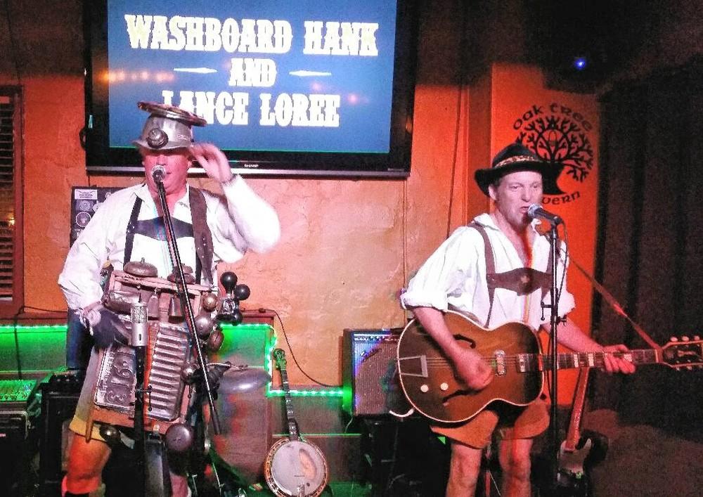 Washboard Hank & Lance Loree Oktoberfest
