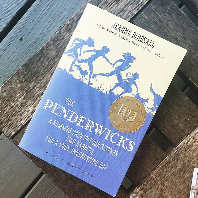 If you liked Little Women by Louisa May Alcott this will be a treat. Four sisters summer in a beautiful  estate, new friends, staying in and out of trouble, new adventures -- The Penderwicks (series) by Jeanne Birdsall ages 8-12
