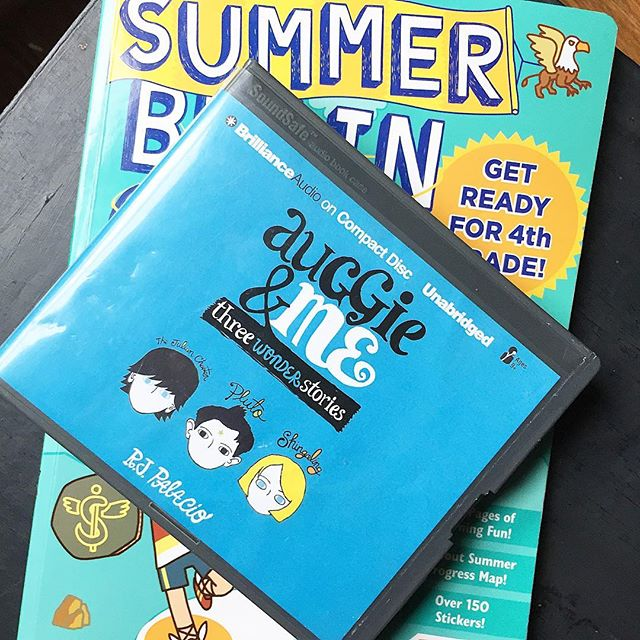 "Our #littlelitbookclub ""Middle Grade"" pick for August! Wonder by RJ Palacio is my (I mean my daughters) fave of all time middle grade (ages 8-12) book and we are super excited to get even more of Auggie Pullmans world  through three points of view: The Julian Chapter (the Bully), Pluto (Christopher, his oldest friend) and Shingaling (Charlotte, Auggie's new friend at school). Previously only available in ebook, now available as a compilation hardcover and audio (which we are currently listening to)."