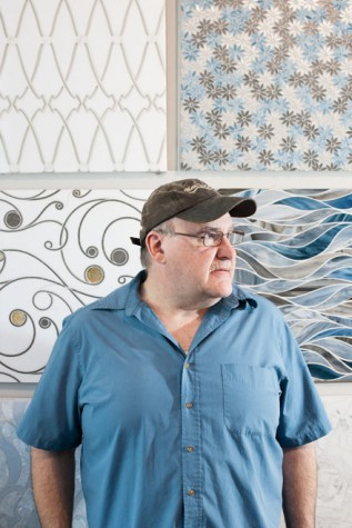 Larry Stoddard learned how to set tile when he was 20 years old.  Although he is now the owner of a successful retail business, he has never stopped performing the hands-on work of installation.  It's his passion - and his craft.
