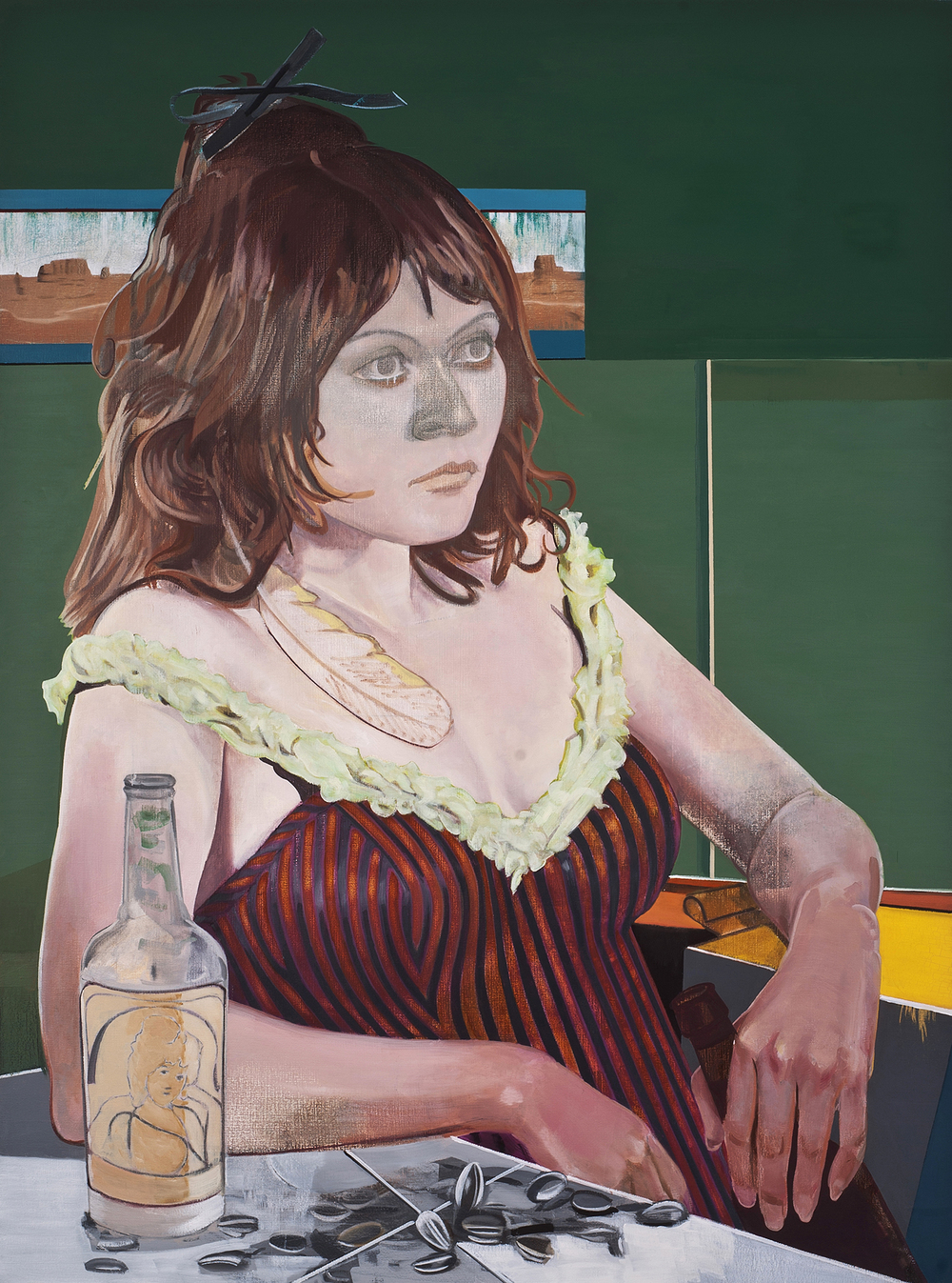 New Ways of Living , 2012. oil on canvas, 65 x 48 inches